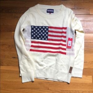 969285491b9f Tipsy Elves · Brand New  American Flag sweater